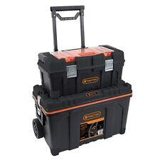Tactix 2-In-1 Rolling Tool Box Set
