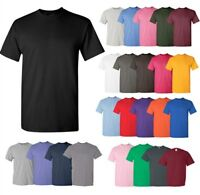 Gildan Mens Heavy 100% Cotton (Pack Of 5) Bulk Plain Adult T-Shirt Tee 5000