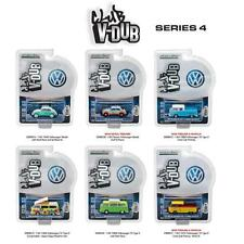 Greenlight 29860 V Dub Series 4 VW T2 PICKUP GULF SHELL SET OF 6 1:64 Cars