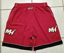 Rare NWOT Authentic ADIDAS Miami Heat Christmas Game  NBA Shorts Men's 4XL