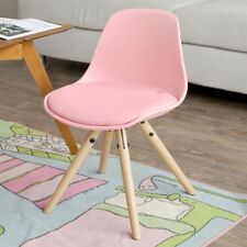 SoBuy Kids Children Chair Stool Padded Seat Pp/pu Leather Pink Fst46-p UK