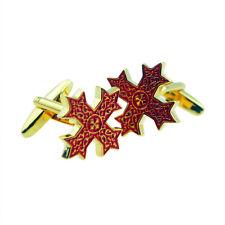 Red Coptic Cross Cufflinks X2AJ486A
