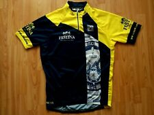 Festina Watches Short Sleeve Cycling Jersey ,Santini  Size: L NEW Without Tags!