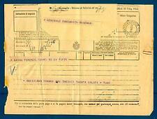 Telegramma di Turr al Gen. Barbarich (19.01.1928)