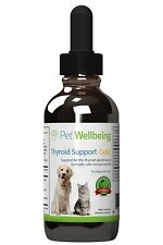 Pet Wellbeing Thyroid Support Gold For CATS & DOGS Natural Support For Thyroid