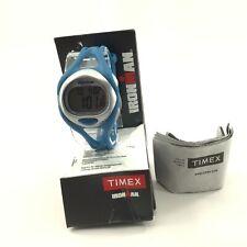 TIMEX 50 Lap Ironman Sleek Digital Teal Resin Unisex Watch - T5K760