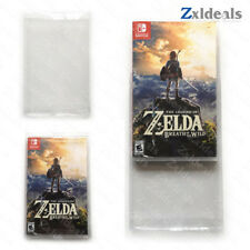 Box Protector Sleeve Nintendo Switch Games Custom Made Clear Plastic Protection
