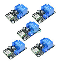 5PCS DC 12V ESP8285 Smart Wifi Self-lock Switch Relay Delay Module IOS Android