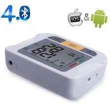 Bluetooth Fully Automatic Upper Arm Blood Pressure Monitor for IOS & Android MTC