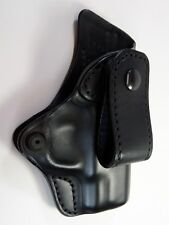 "BLACKHAWK Inside the Waistband Black Leather Holster 29 S&W Shield 3.1"" 9mm & 40"