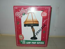 """Neca New! Vintage A Christmas Story Full Size 20"""" Leg Lamp Prop Replica In Box"""