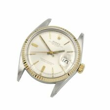 ROLEX OYSTER PERPETUAL DATEJUST 1500 CAL 26 JEWEL TWO TONE 34 MM WRIST WATCH