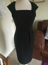 LIPSY- BLACK AMAL BODYCON  DRESS- SIZE 10- NEW WITH TAGS!