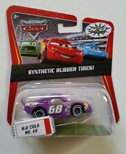 CARS Disney pixar cars N20 COLA nr.68 synthetic rubber tires ! 1/55 mattel
