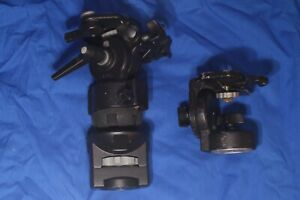 Bogen Video heads 3063 Fluid with Ball adapter and