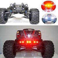 LED Front Scheinwerfer Lampe + Taillight + Bracket Für Traxxas X-MAXX XMAXX RC