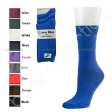 Boys And Girls Back To School Rich Cotton Ankle Socks In Black Grey Navy White
