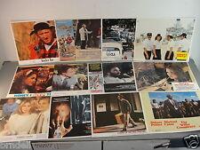 LOBBY CARD MOVIE POSTER LOT 12 VTG 70s REYNOLDS GLEASON BRONSON WILDER NOVAK OLD