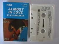 ELVIS PRESLEY ALMOST IN LOVE AUSTRALIAN RELEASE CASSETTE TAPE
