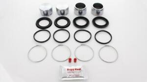 for LOTUS ELAN 1964-1974 FRONT L & R Brake Caliper Repair Kit +Pistons (BRKP26)