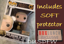 FUNKO POP SER BRIENNE OF TARTH BOXLUNCH GAME OF THRONES FIGURE Protector IN HAND