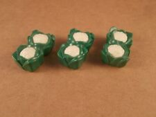 PLAYMOBIL cavolfiori ortaggi supermercato mercato 3 pezzi #20002