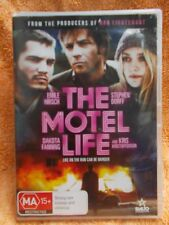 THE MOTEL LIFE EMILE HIRSH,STEPHEN DORF,DAKOTA FANNING DVD MA R4