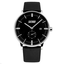 SKMEI 9083 Business Date Waterproof Men Wrist Watch