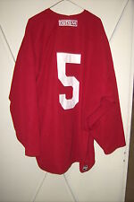PHOENIX COYOTES worn #5 Connor Murphy red CCM preseason practice jersey 2014