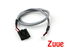 FPV Camera to TX 400mm 5 Pin Molex/JR to 3 Pin White Connector Lead 64628