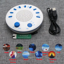 Hot 9 Sounds White Relax Machine Deep Sleep Solution Noise Nature Peace Therapy
