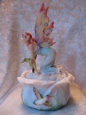 Hummers Night Dream Fairy Jewelry Trinket Box Summit  Collection
