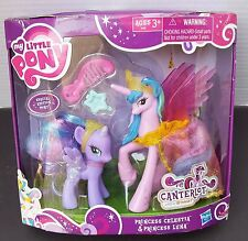 New My Little Pony Special Edition Canterlot Princess Celestia Luna Purple wing