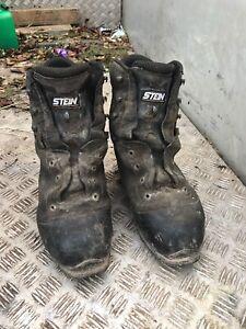 Stein Size 11 Chainsaw Boots