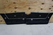 1964 Corvette Original Door Panels (Black) NICE OEM USED DELUXE