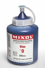Mixol Nr.9 blau 0,5l Abtönfarbe Pigment Abtönkonzentrat Universal