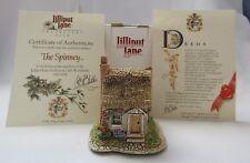 Lilliput Lane Lilliput Lane Sculpture - The Spinney - 1993 Deed