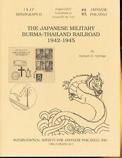 ISJP Monograph 13, Japanese Military Burma-Thailand Railroad 1942-1945, 2000 58p