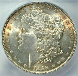 1889 USA Morgan Silver Dollar ICG MS64 Condition Toned  KM# 110  (734)