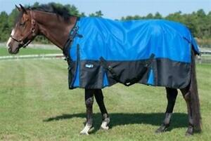 """Horse Turnout Sheet - 1680D - Snuggit - Waterproof Poly - 69"""" to 84"""" - 3 Colors"""