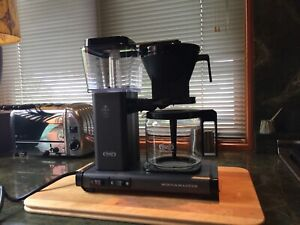 Technivorm Moccamaster Gray coffee maker (used once) EXCELLENT CONDITION