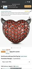 Gnoce Heart Charm - New