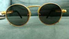 Vintage Jean Paul Gaultier 56-8171 Gold Sunglasses - authentic vintage