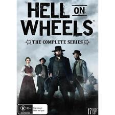 Hell on Wheels Complete Seasons Series 1 2 3 4 & 5 DVD Box Set R4