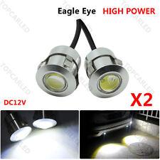 2pcs 9W Reverse Sensor Laser Eagle Eye Auto Car Door Light & LED Waterproof DRL