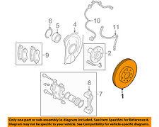 MITSUBISHI OEM 08-15 Lancer Front Brake-Disc Rotor 4615A190