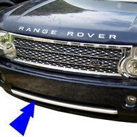2010 look front bumper trim strip for Range Rover L322 Vogue upgrade grille new