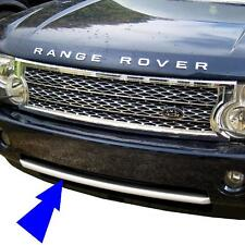 2010 look front bumper trim strip for Range Rover L322 Vogue upgrade grille new