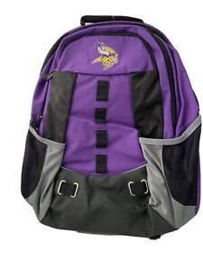 New with Tag Northwest NFL Minnesota Vikings Purple Backpack Bag