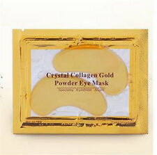 1Pairs Gold Crystal Eye Mask Collagen Aging Wrinkle Under Crystal Gel Patch